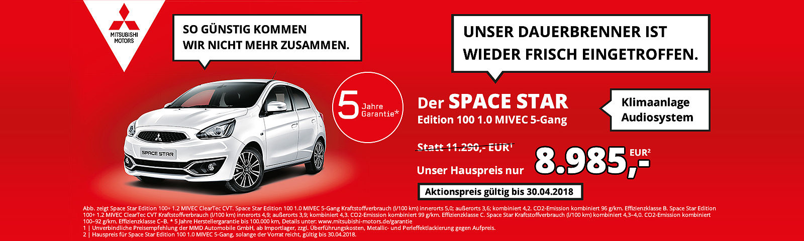 Space Star Angebot
